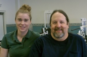 Mandy, LPTA with Stone, a physical therapy patient at DOAR Chatham
