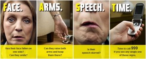 Act FAST to prevent Stroke