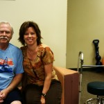 Cindi Mathena, LPTA, Physical Therapist Assistant at DOAR with at patient at DOAR East