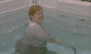 Aquatic therapy at DOAR in Danville, Virginia