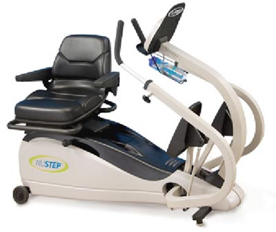 NUSTEP T4 Recumbent Cross Trainer Stepper Machine Gym Fitness Images - Frompo