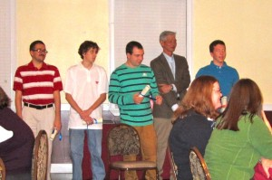 The 2011-2012 DOAR & Affiliates Scholars were recognized at the holiday dinner