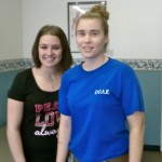 Mandy Adkins, PTA, with a patient at DOAR Chatham