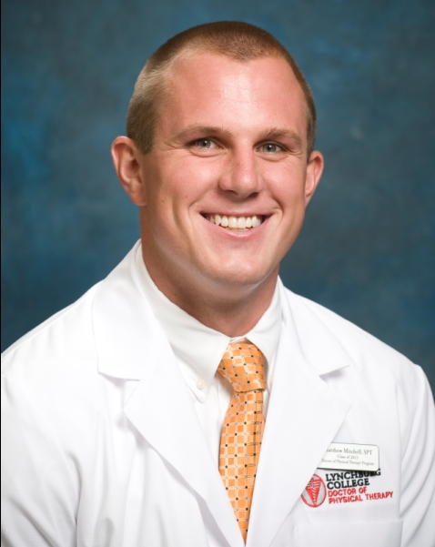 Matt Mitchell, DPT Student at Danville Orthopedic & Athletic Rehab in Danville, Virginia