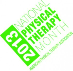 National Physical Therapy Month 2013