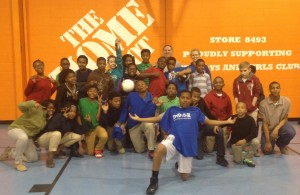 Athletic Trainers at the Boys & Girls Club
