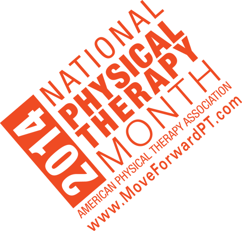 Physical Therapy Month 2014