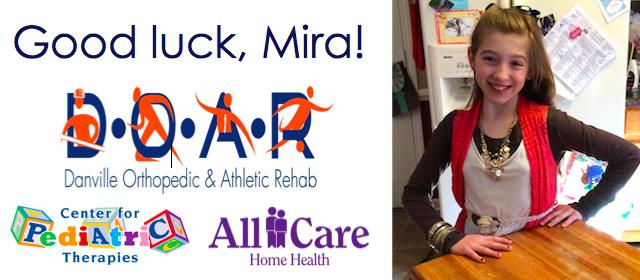 Good luck, Mira!